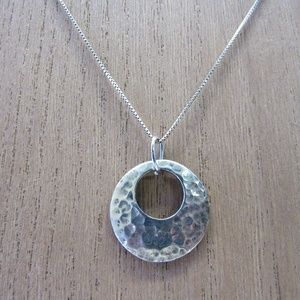 Jewelry - Vintage 925 Sterling Silver Necklace